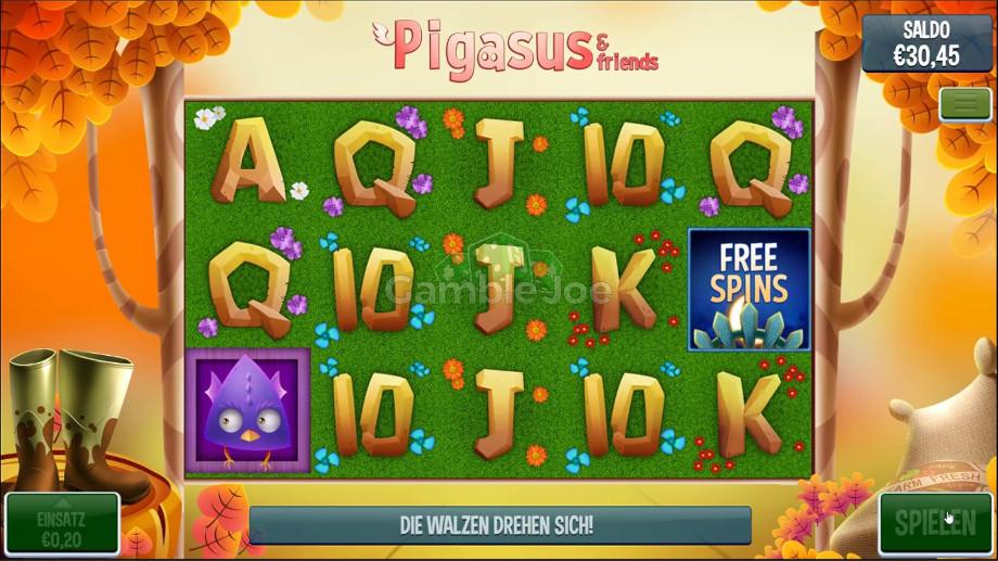 Pigasus & Friends von Slingo Originals