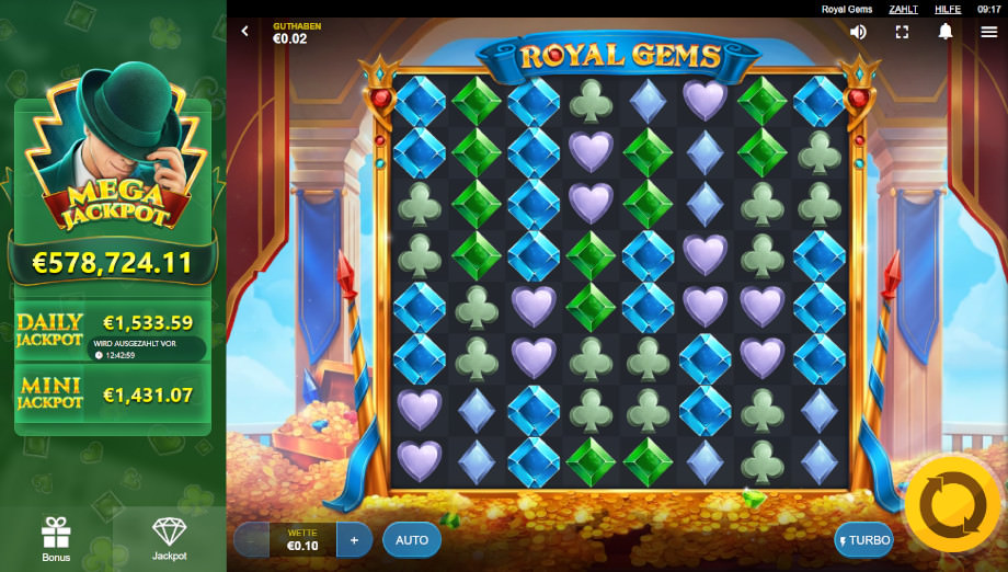 Royal Gems von Red Tiger