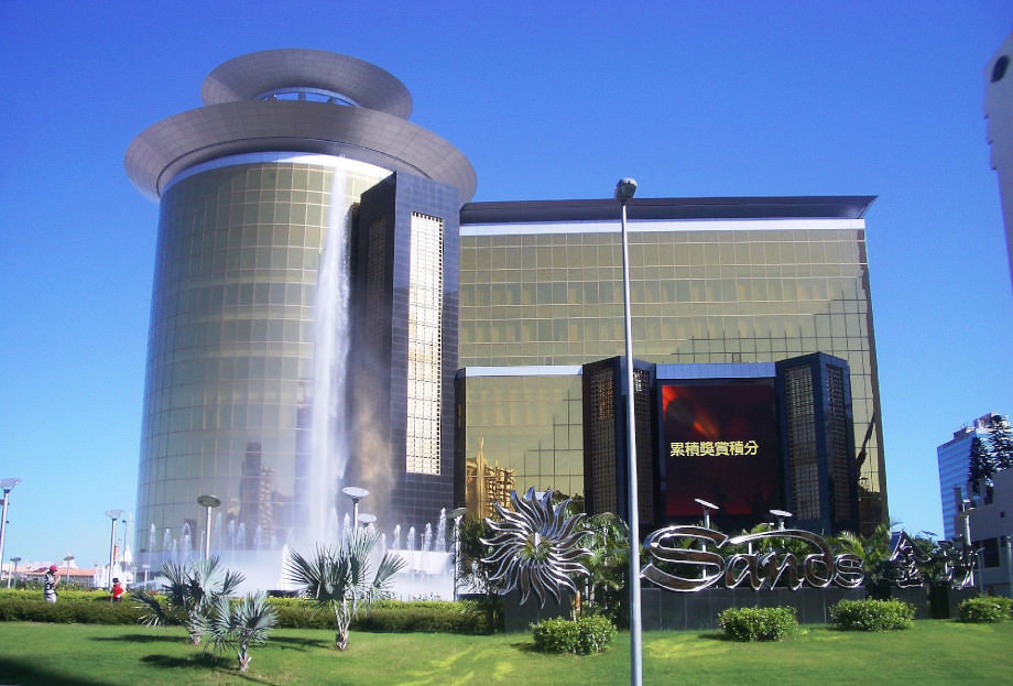 Das Gebäude des Sands Macao, welches die Gesichtserkennungssoftware nutzt