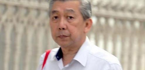 Der Buchhalter Ewe Pang Kooi aus Singapur