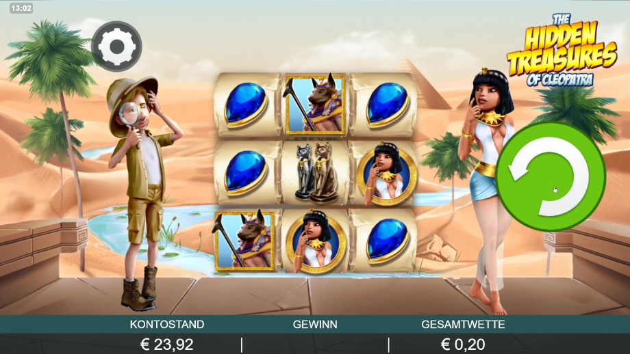 The Hidden Treasures of Cleopatra von Probability Jones