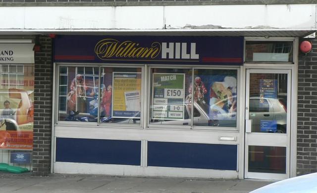 Beispiel eines Wettbüros von William Hill