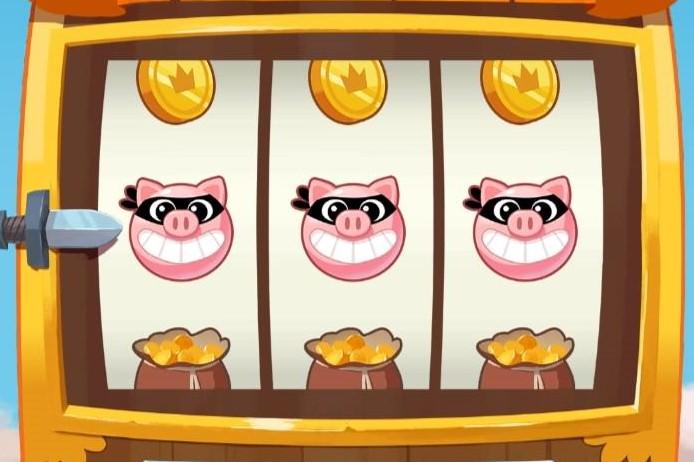 Über den Slot laufen bei Coin Master alle Aktionen