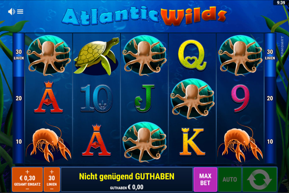 Atlantic Wilds von Gamomat