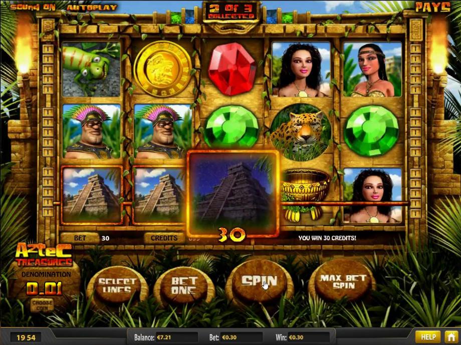 Aztec Treasure von Betsoft