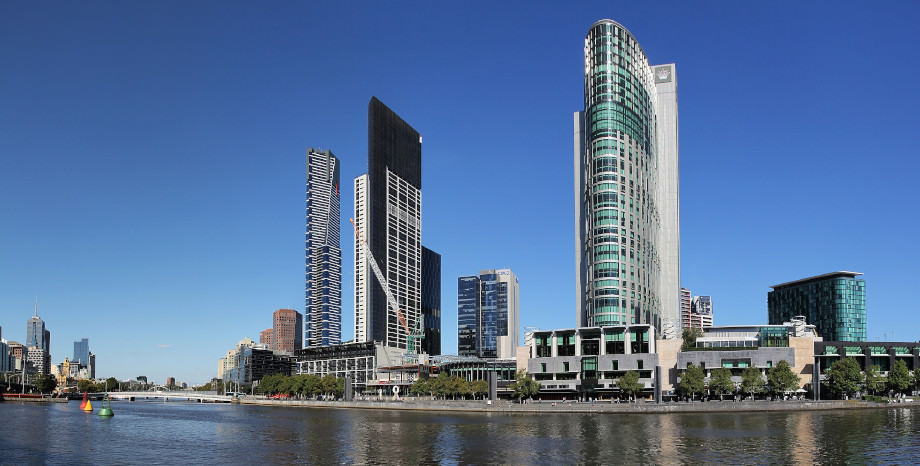 Das Crown Casino in Melbourne