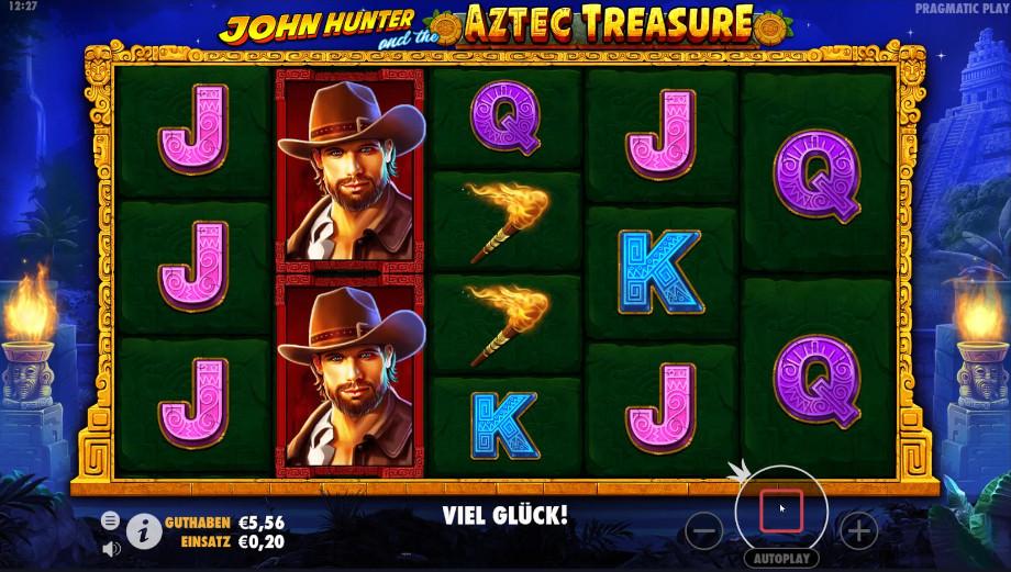 John Hunter and the Aztec Treasure von Pragmatic Play