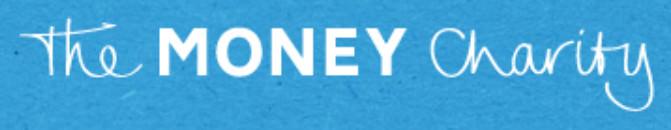 Das Logo von The Money Charity