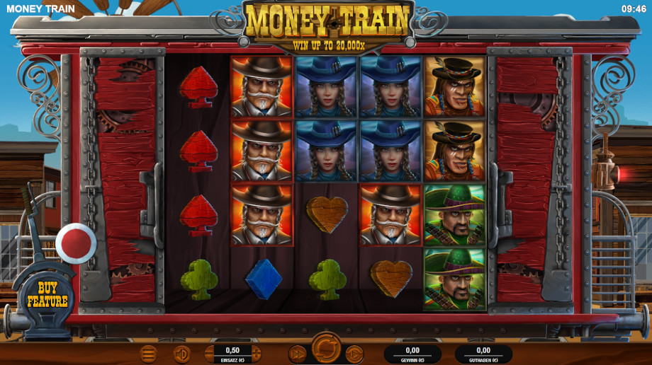 Money Train von Relax Gaming