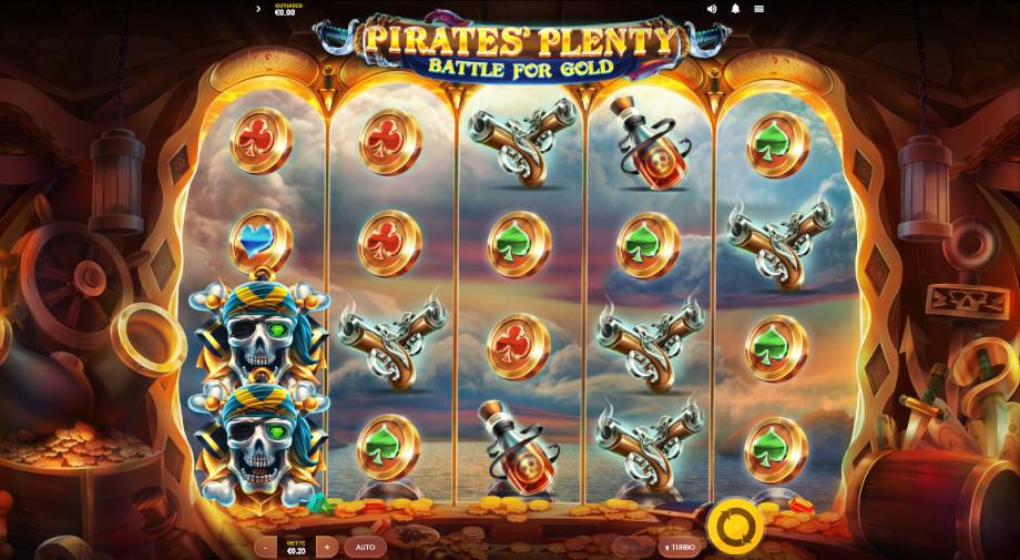 Pirates' Plenty Battle for Gold von Red Tiger
