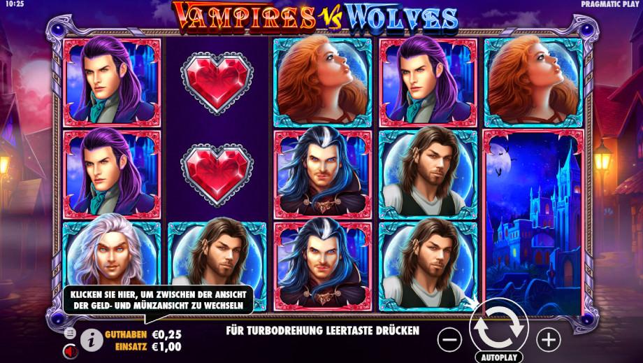 Vampires vs. Wolves von Pragmatic Play