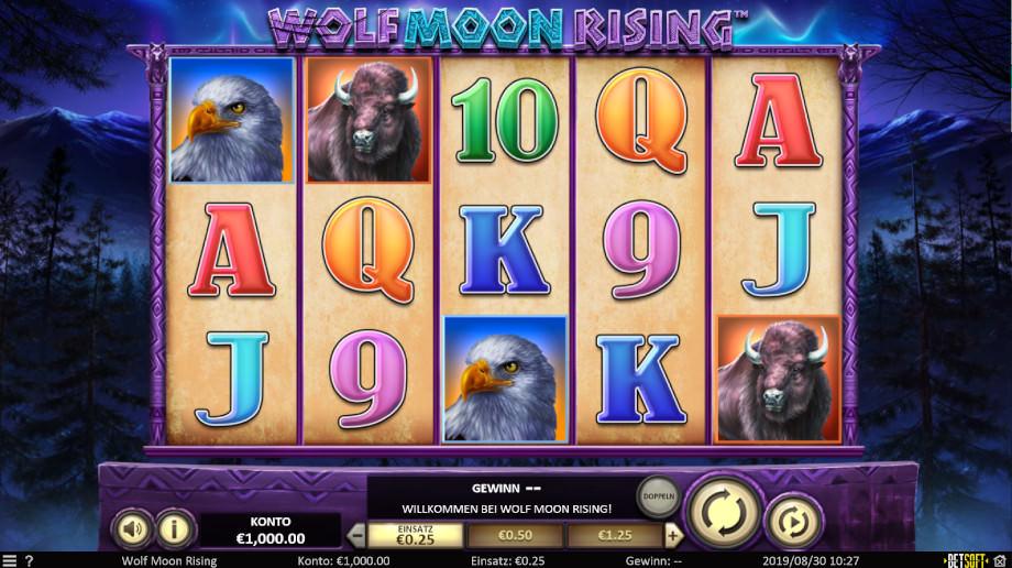 Wolf Moon Rising von Betsoft