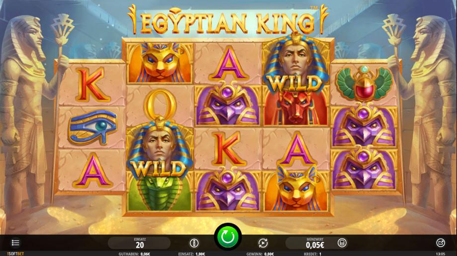 Egyptian King von iSoftBet