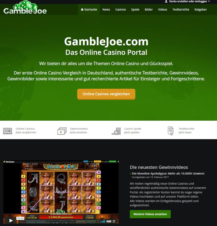 Gamblejoe.Com