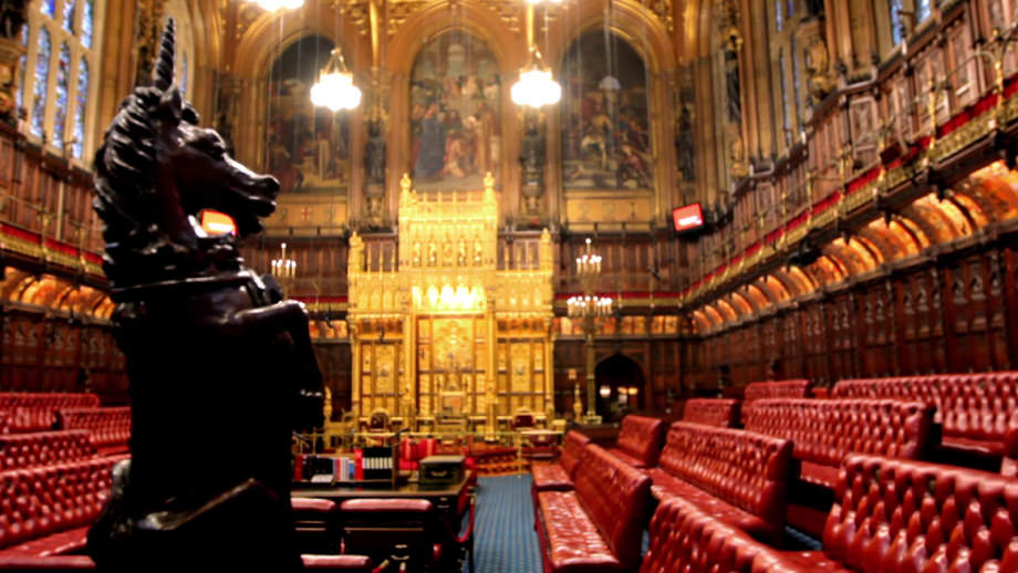 House of Lords in London