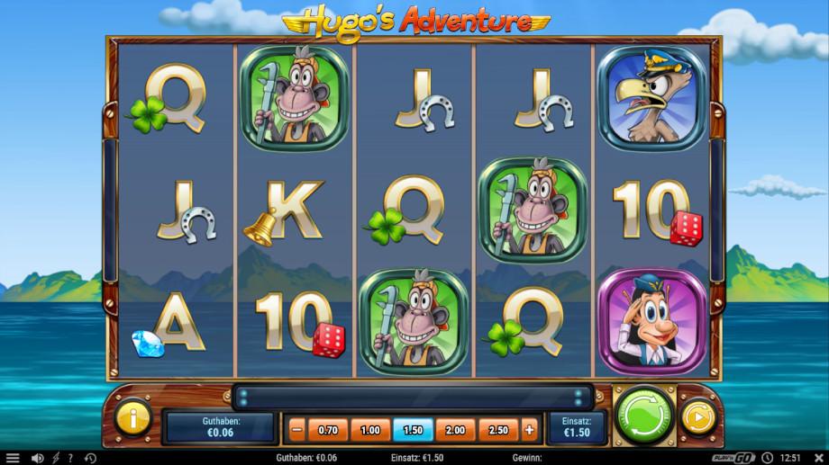 Hugo's Adventures von Play'n GO