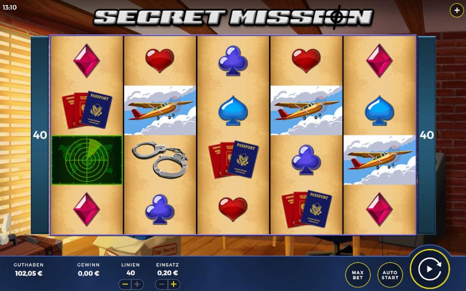 Secret Mission von Bally Wulff