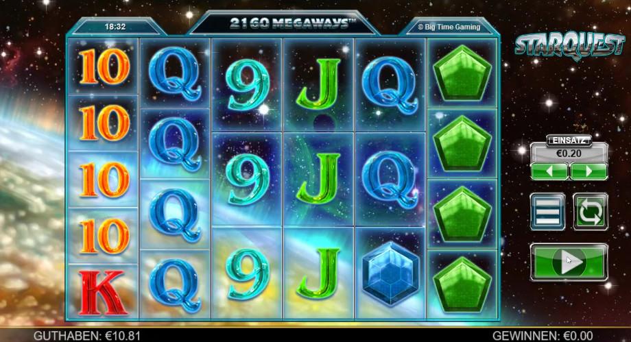 Starquest von Big Time Gaming