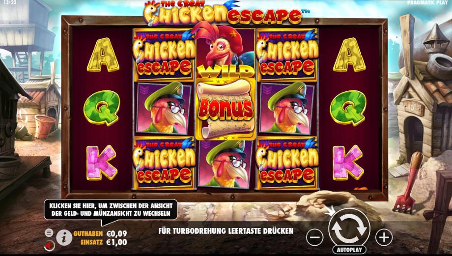 The Great Chicken Escape von Pragmatic Play