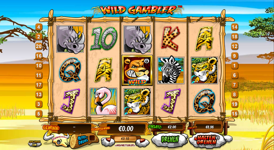 Wild Gambler von Playtech