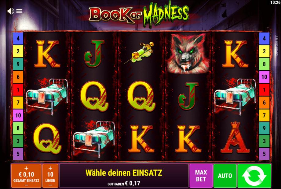 Book of Madness von Bally Wulff