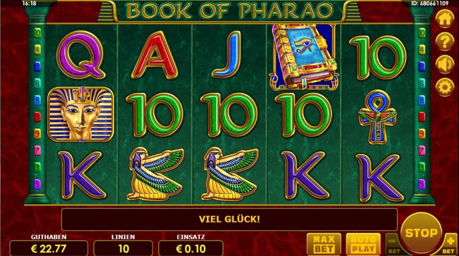 Book of Pharao von Amatic