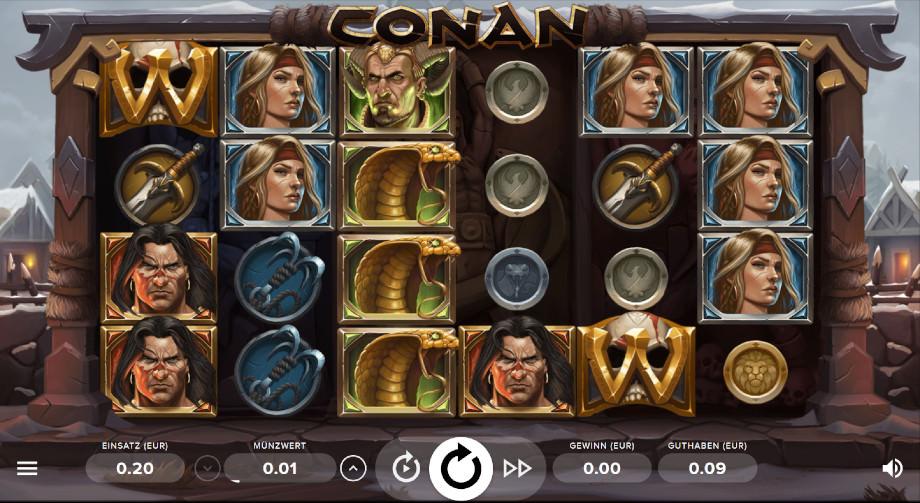 Der Conan Spielautomat von NetEnt