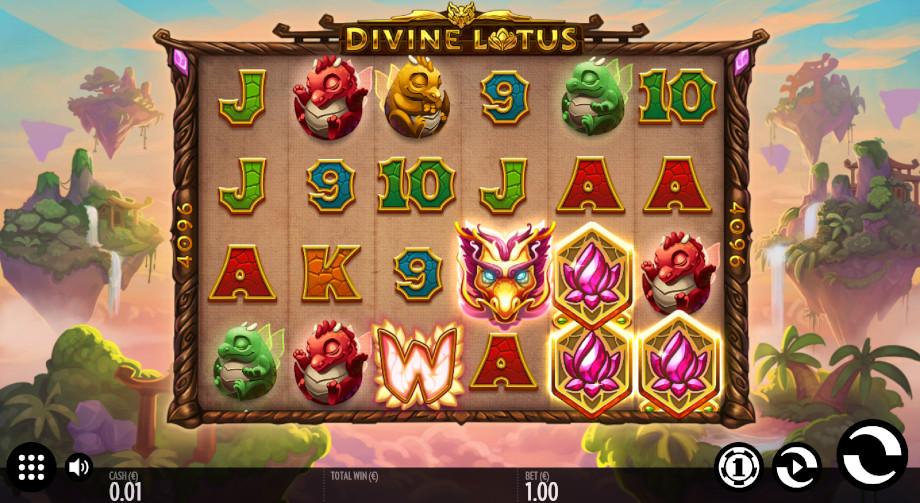 Divine Lotus von Thunderkick