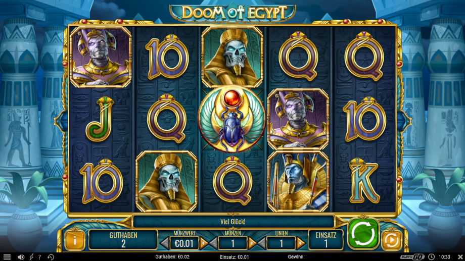 Spiele Doom Of Egypt - Video Slots Online