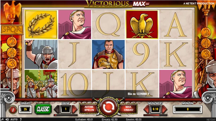 Victorious Max von NetEnt