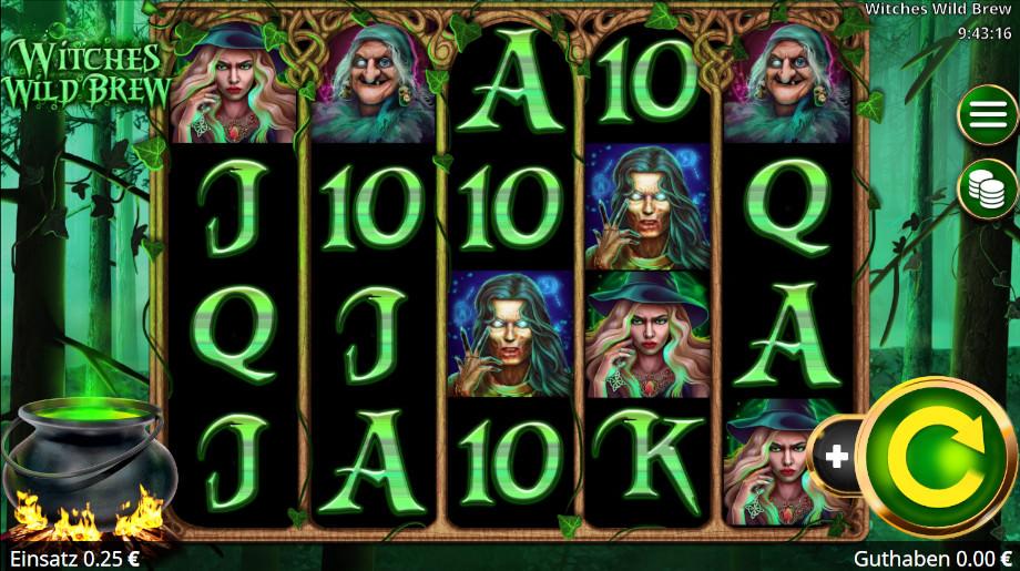 Witches Wild Brew von Booming Games