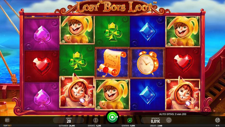 Lost Boys Loot von iSoftBet