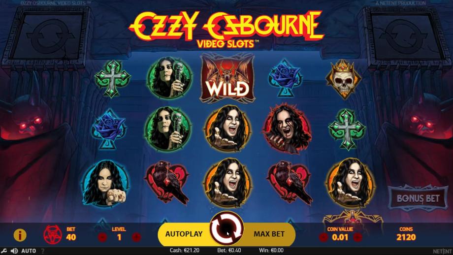 Ozzy Osbourne Video Slots von NetEnt