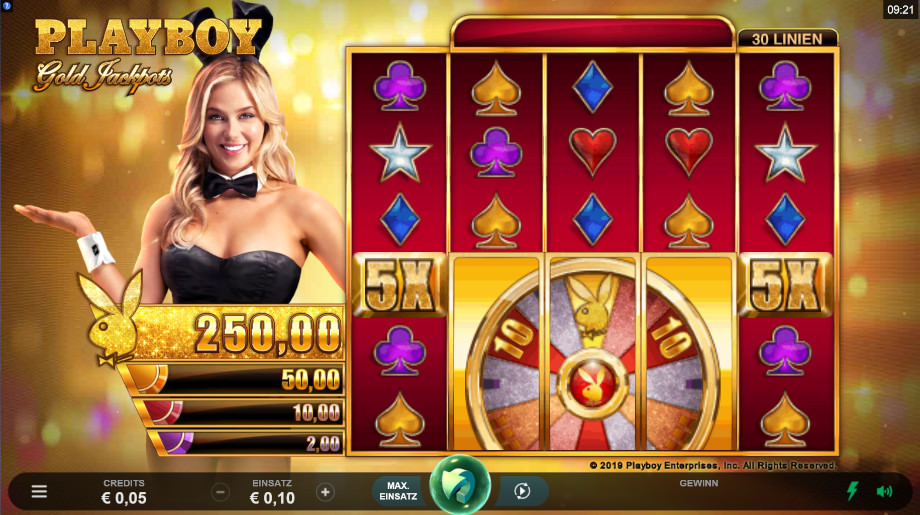 Playboy Gold Jackpots von Microgaming