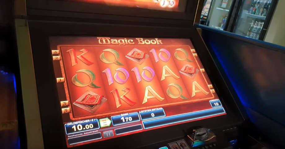 Spielautomat beim Döner