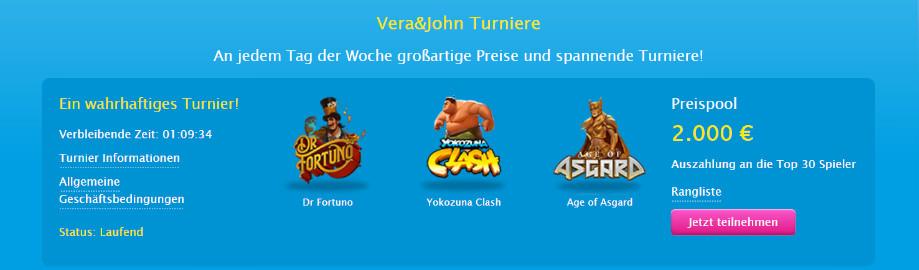 Das Yggdrasil-Slot-Turnier