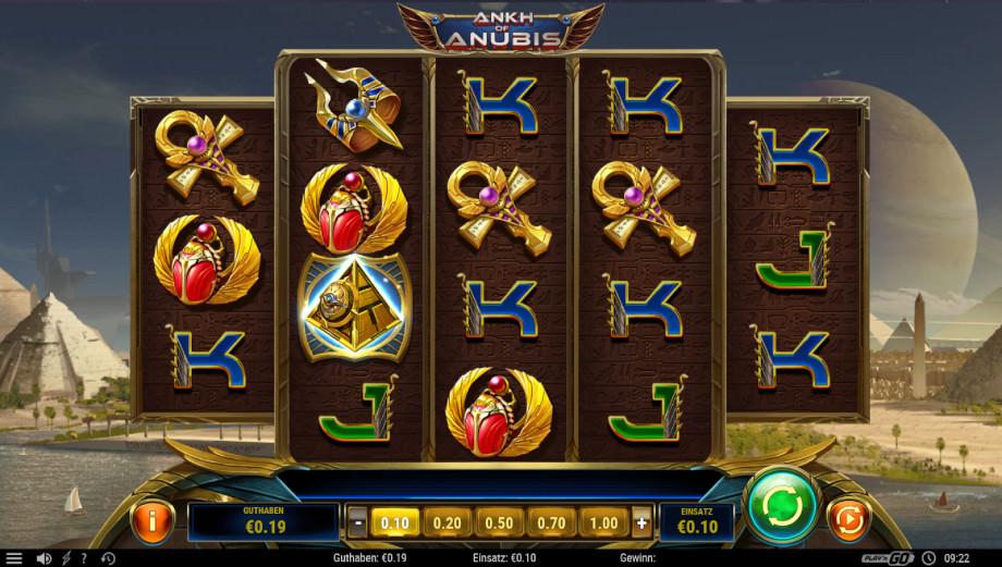 Ankh of Anubis von Play'n GO