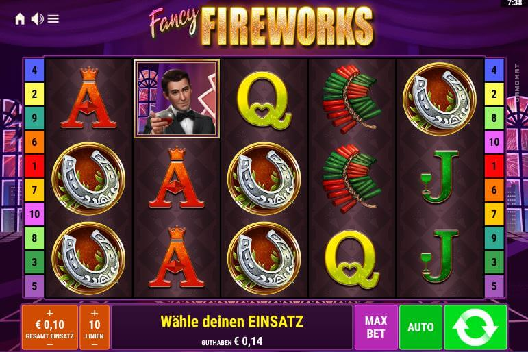 Der neue Slot Fancy Fireworks von Bally Wulff