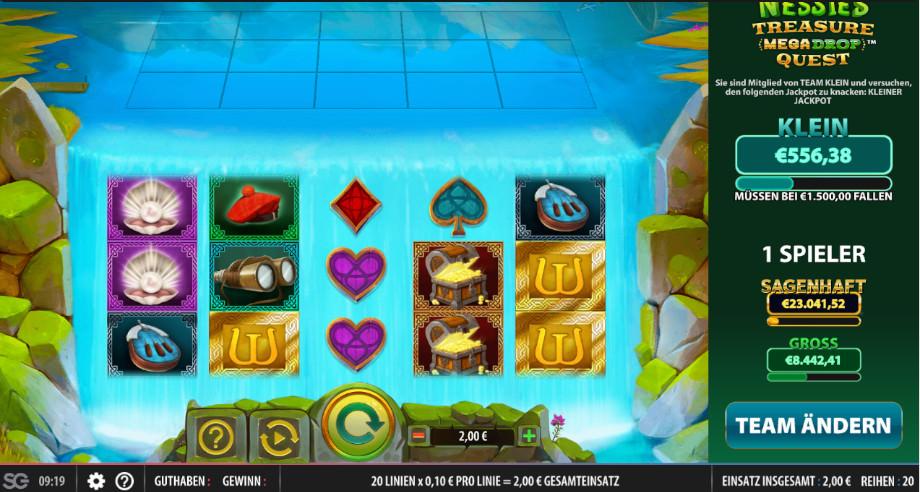 Nessies Treasure Megadrop Quest von Red7