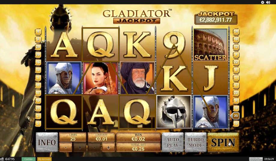 Gladiator Jackpot von Playtech