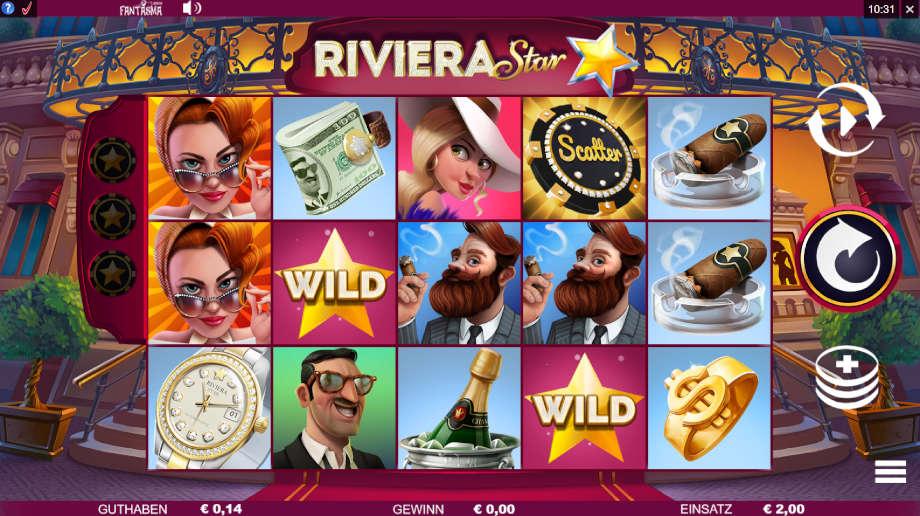 Riviera Star von Microgaming
