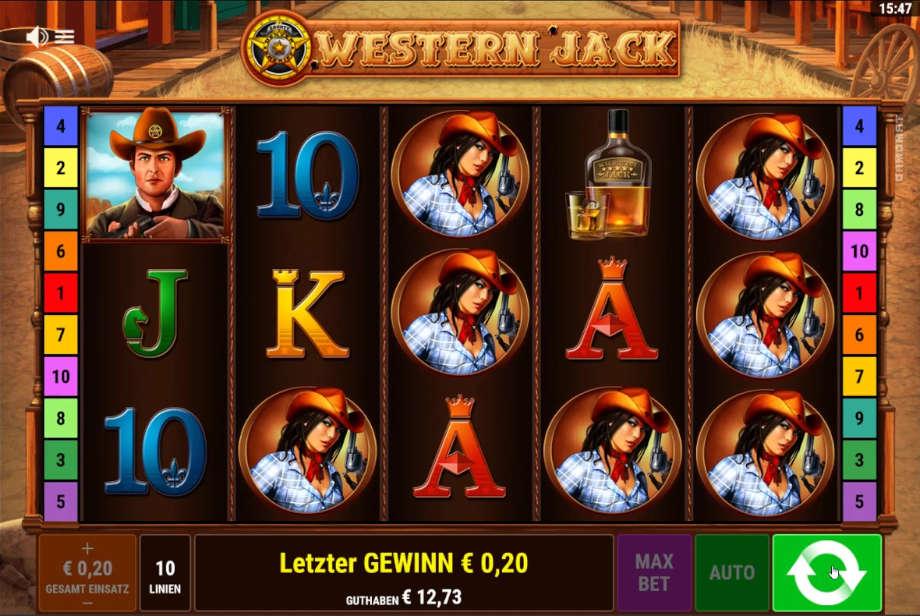 Western Jack von Gamomat/Bally Wulff