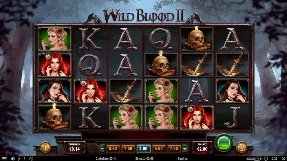 Wild Blood 2 von Play'n Go