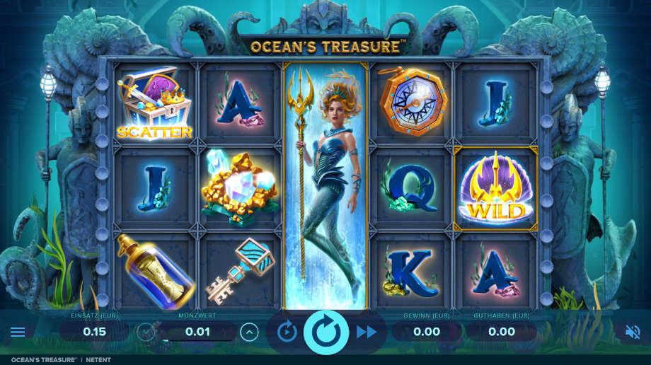 Ocean's Treasures von NetEnt