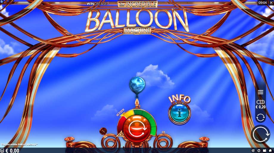 The Incredible Balloon Machine von Microgaming