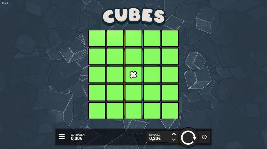 Der neue Cubes Slot von Hackshaw