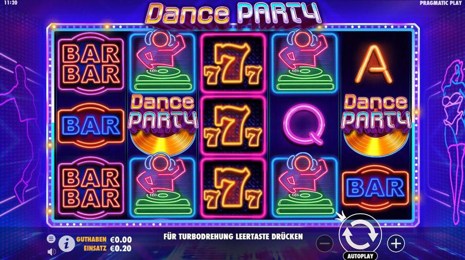 Der neue Pragmatic Slot Dance Party