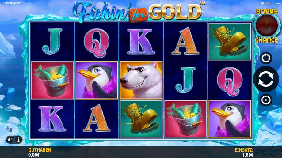 Fishin' for Gold von iSoftBet