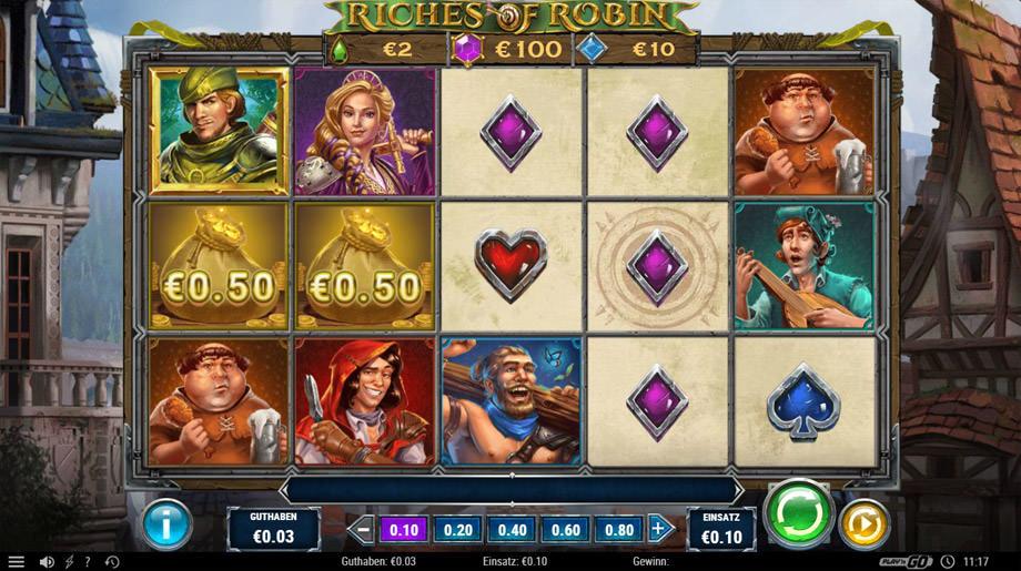 Der neue Riches of Robin Play'n GO Slot