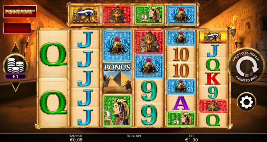 Anubis Wild Megaways von Inspired Gaming